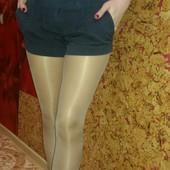 стильные шорты от Топ Шоп р.6 в мелкую полосочку,как новые