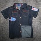 Джинсовая рубашка George на 9-18 мес.