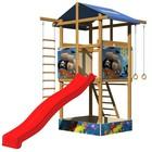 Детские игровые площадки +из дерева SB-7