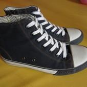 Кеды темно-синие джинсовые Next, размер 38