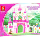 Конструктор M38-B0153 Замок для принцессы Розовая мечта детский cлубан