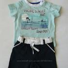Комплекты C&A для мальчиков футболка шорты. рост 68