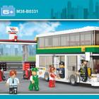 Конструктор M38-B0331 Автобус, Sluban, городская серия
