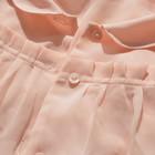 Нежная шифоновая персиковая блуза Asos,12(40) размер