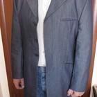 Классический удлиненный мужской пиджак KIT. р: 50-52