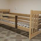В наличии. Детская односпальная кровать из массива ольхи двухцветный Роланд