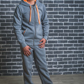 Спортивный мужской костюм с начесом 01362 (3 цвета)