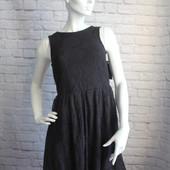 Кружевное черное платье Дания! р.L