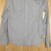 Винтажная рубашка в джинсовом стиле Firetrap Англия. M.