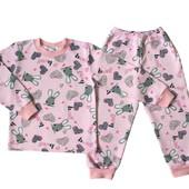 Пижама с начесом для девочки Bunny-скидки!!!