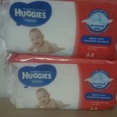 Детские влажные салфетки Huggies 64шт