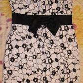 Почти новое элегантное платье для дамы на корпоратив в идеал.состоянии. Замеры:ог=110,от=91,об=114см