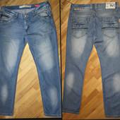 Летние мужские зауженные джинсы Sevilla.Б\у 1 раз.