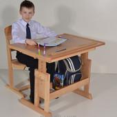 Хит продаж Парта растущая и стул по суперцене Стол школьнику