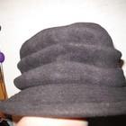 Шляпа флисовая,серая,р.58.