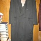 Пальто шерстяное,р.52,тёмно-зелёное,Финляндия.Нюанс.