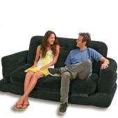 Велюровый диван Intex 68566