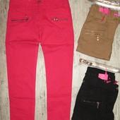 Котоновіе брюки для девочек 146,164р.41376