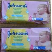 Johnson's baby - extra sensitive - вологі серветки для дітей - 56шт
