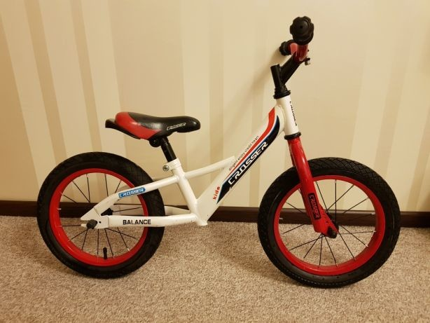 Azimut беговел кросcер баланс 12 14 16 дюймов детский велобег crosser balance фото №1