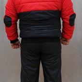 Мужской спортивный костюм на синтепоне