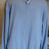 кофта серо-голубая Next Quality Knitwear Размер L 80%котон, 20%нейлон