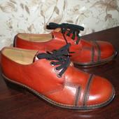 Туфли из высококачественной кожи