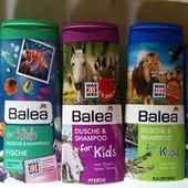 Детские шампуни и гели для душа Balea,Denkmit,Sau Bar,Baby love