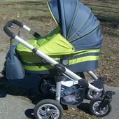Продам б/у универсальную коляску для узкого лифта Androx Zippy + бонус б/у прогулочная коляска Traxx