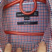 Фирменная рубашка 100 %  оригинал, размер  S-M !!!!