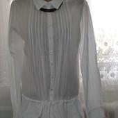 Красивенная белая рубашка-туничка от Pimkie