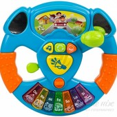 Игрушка Маленький водитель от  Bebelino (Великобритания) руль детский я рулю