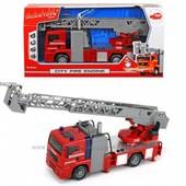 Пожарная машинка Dickie Город со световыми и звуковыми эф 31 см 3715001