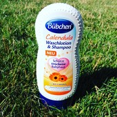 Шампунь с детским лосьоном для мытья и душа Календула  230ml