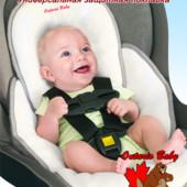 Вкладыши матрасики подкладка в автокресло и коляску (цвета)