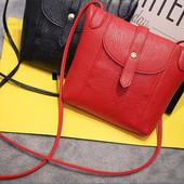 Сумка клатч женская серая, красная, черная код 3-212