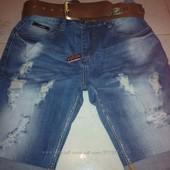 распродажа!!!джинсовые шорты  28 размер