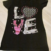 футболка женская LOVE