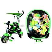 Оригинал. Доставка бесплатно Велосипед трехколесный Mars Trike  anime (зеленый)
