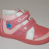 Демисезонные ботинки для девочек Тom.m 6489В светло-розовый р.21