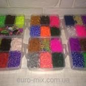 Резинки для плетения браслетов Rainbow Loom 10000