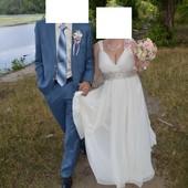 Свадебное платье+подарок в отл. сост  Цену снизила