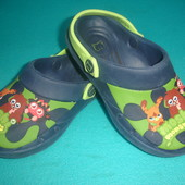 Фирменные босоножки кроксы  для мальчика на наш 31-32 размер