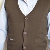 продам мужскую жилетку в отличном состоянии на холодный период года