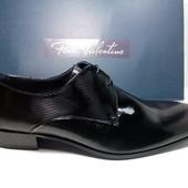 Классические мужские туфли из натуральной кожи, производитель Испания! Тм.Paco Valentino