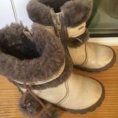 Зимние сапоги Шаговита 25 размер(натуральный мех и кожа)