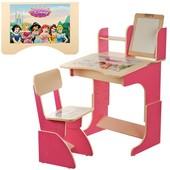 Детская парта F100 столик с стульчиком для школьника дома