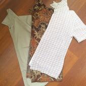 48р.Летние мужские рубашки с коротким рукавом