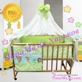 Набор детского постельного белья Bepino Лесные зверята