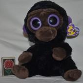 TY фирменный Милейшая мартышка обезьянка глазастик Большой Новый